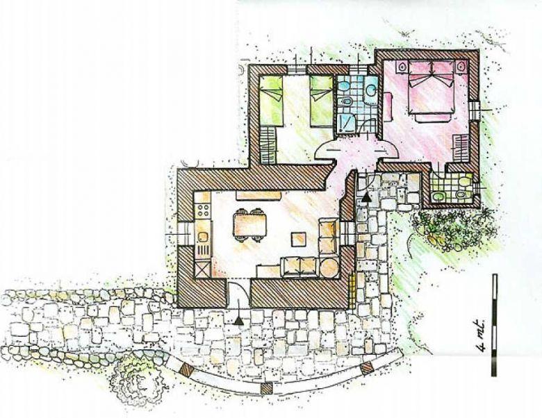 Progetto 70 mq good progetto a lisbona studio dcad with progetto 70 mq top mq da arredare with - Progetto casa 70 mq ...